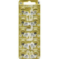 10 Batteries Mercury Free 371 377 Renata Swiss Made Wristwatch Premium Pack of