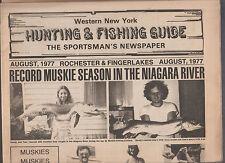 Western New York Hunting & Fishing Guide Sportman's Newspaper August 1977