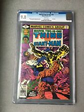 Marvel Two In One #55 CGC 9.8  W/Pgs 1st Appearance Giant-man II (Bill Foster)