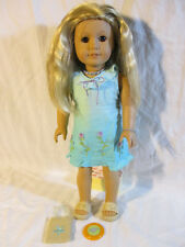 American Girl KAILEY DOLL, Outfit, Accessories Jewelry & Dog Sandy GOTY 2003 Lot