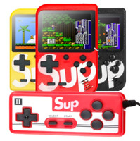 SUP PLUS Handheld Game Console Built in 400 Classic Games Mini Box for 2 Players