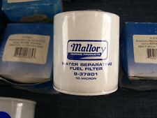 Sierra and Mallory Marine Oil Filters,18-7876, 18-7846, Mallory 9-37801 1 Lot