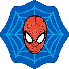 Spiderman Abstract Web Shaped Rug Floor Mat Non-slip Kids Boys 80cm X 75cm