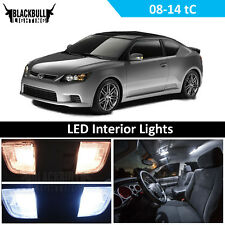 White LED Interior Light Replacement Pack Kit fits 2008-2014 Scion tC 7 bulbs