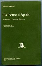 La fonte di Apollo. Guido Malcangi