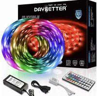 DAYBETTER R5032 32.8 ft. Color Changing LED Light Strip Kit