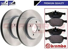 FOR FORD FOCUS 2.0 ST170 2002-2004 FRONT BRAKE DISCS 300mm BREMBO PADS