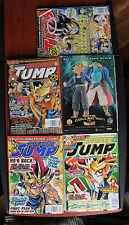 5) Shonen Jump magazines - 2004-5  No 23 26 28 31 32 Naruto YuGiOh Dragon Ball Z