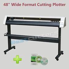 """48"""" Wide Format Vinyl Cutter Cutting Plotter REDSAIL RS1360C+ Artcut 2009"""