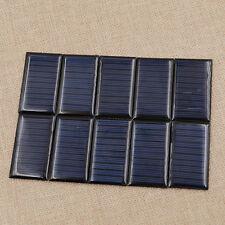 50x30mm 5V 30mA Micro Mini Small Solar Power Cell Battery Panel DIY Tool 10Pcs