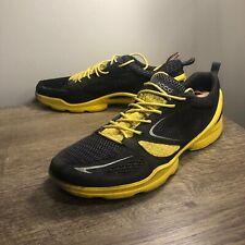 ECCO BIOM Performance Terrain Black Yellow Shoes Mens Size 44 US11