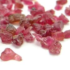 Red Spinel Rough Natural Gemstone Unheated Specimens Mixed Sizes Lot of 20 Cts.