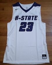 New Nike Men's L Kansas State Wildcats Hyperelite Playmaker Jersey #23 White $75
