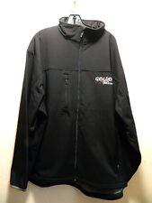 Soft Shell Jacket TRI MOUNTAIN 6400 FLIGHT Water & Wind Resist Zip 3XL Black NWT