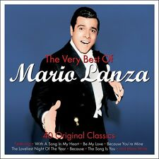 Mario Lanza VERY BEST OF 40 Original Classics ESSENTIAL COLLECTION New 2 CD