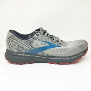 Brooks Mens Ghost 14 1103691D078 Gray Running Shoes Sneakers Size 9.5 Medium D