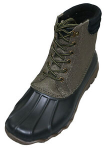 Sperry Avenue Duck Cordura Waterproof Lace-Up Thermal Lined Men's Boots NIB