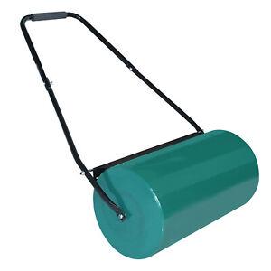 Rasenwalze Gartenwalze Handwalze Rasenroller Gartenroller Ackerwalze Metall 57cm