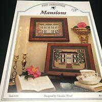 Just Cross Stitch Mansions Cross Stitch Pattern Item #185, Claudia Wood