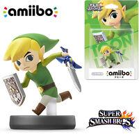 ORIGINAL Nintendo Switch amiibo Super Smash Bros Zelda Toon Link NFC Figure JP