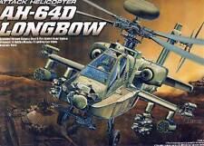 Académie AH-64D Longbow Hellfire Hélicoptère 1:48 Système d'arme modèle-kit