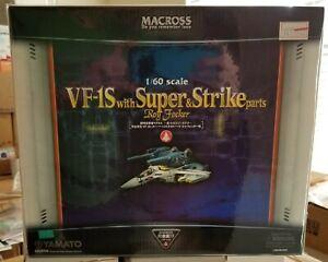 Yamato Macross 1/60 VF-1S Super & Strike Parts Roy Focker Robotech Valkyrie