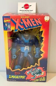 """1994 Apocalypse 10"""" Deluxe MIB Complete ToyBiz Figure Marvel X-Men"""