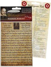 Shakespeare Magnetic Word Kit
