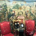 """Large European French De Rambouillet Tapestry Made in France 99""""T x 88""""W"""