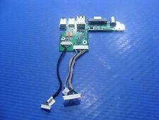"HP Pavilion dv4000 15.4"" OEM Audio VGA S-Video USB Port Board w/Cable 384625-001"