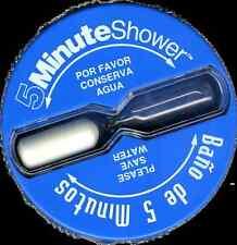 Spanish and English 5 Minute Shower Timer - Bano de 5 Minutos - Espanol