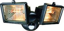 Corner Outdoor Twin Spot Light Halogen Floodlight Security Pir Motion Sensor