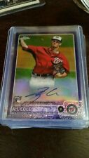 A.J Cole 2015 Topps Chrome Rookie RC Auto Refractor