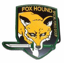 Metal Gear Special Forces Fox Hound Metal/Enamel Belt Buckle