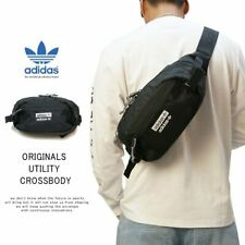 adidas Originals Trefoil Utility Crossbody Fanny Pack Waist Belt Bag - $40