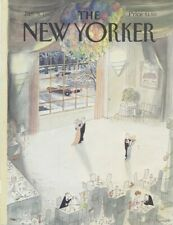 COVER ONLY The New Yorker magazine ~January 5 1987 ~ Sempé, Sempe ~ Slow dance