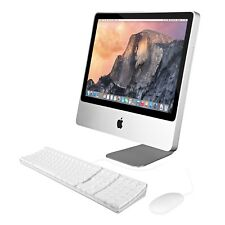 "Apple iMac MC015LL/B 20"" Widescreen Desktop Computer 2.6GHz Core 2 Duo 160GB HDD"
