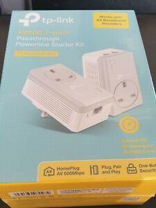 TP LINK AV600 2-Port WiFi Powerline Extender