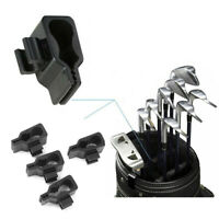 14x Golf Bag Club Organizer Clips On Putter for All Wedge Iron Driver Holder Set
