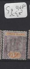 LEEWARD ISLANDS (P1610B)  QV  4D   SG 4   VFU
