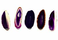 Purple Brazil Agate Slices Geode Polished Quartz Lot 1.7-3.0 inches (5) P13