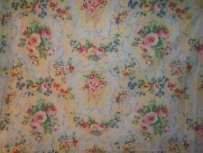 Scalamandre, Antoinette, Vintage Floral with Ribbons, BTY, Color Pastel Multi