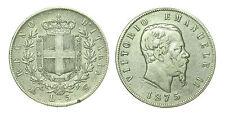 pcc1632_3) Regno Vittorio Emanuele II lire 5 scudo 1875