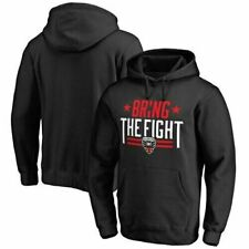 D.C. United Bring The Fight Men's Pullover Hoodie Size M Black (1L04)