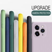 New Color For iPhone 11 Pro Max XR XS X 7 8 6s Plus Liquid Silicone Case Cover
