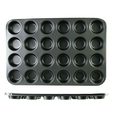 Nonstick Muffin Cupcake Baking Pan - 24 Standard 3 inch Cups Stainless Steel