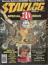 Starlog magazine - No.54 1982, Star Trek,Greatest American Hero