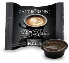 100 CAPSULE CAFFE' BORBONE DON CARLO MISCELA NERA COMPATIBILI LAVAZZA A MODO MIO