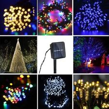 100/200 LED Solar Fairy Lights Chain Christmas Tree Chain Garden Party Outdoor