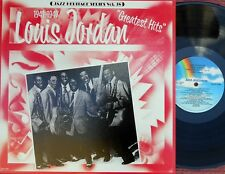 Louis Jordan US Reissue LP Greatest hits EX R&B Jump Blues MCA 1337